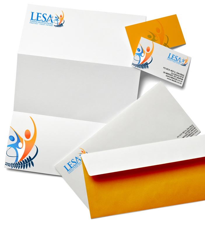 Professional letterhead design for brand promotion in India