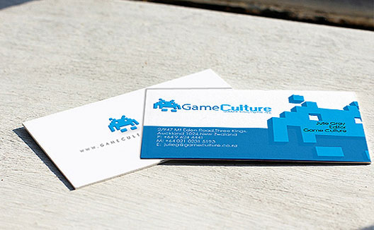 Custom business card design visiting card printing india creative gaming firm business card design sample reheart