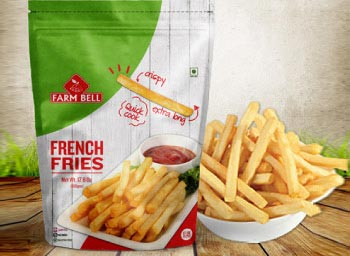 farmbell-french-fries-packaging-design