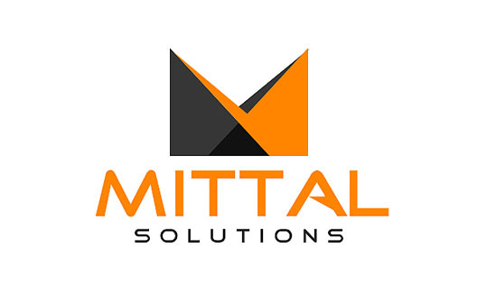 Technology logo design indian it company logo samples it business inspiring it company logo design mittal software thecheapjerseys Image collections