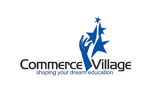 Logo design services in bangalore by logopeople india education logo design sample commerce village thecheapjerseys Image collections