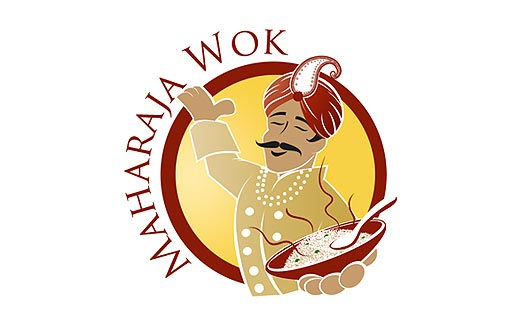Indian Restaurant Logo Design- Maharaja Works